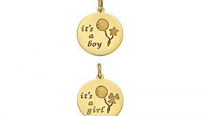 """Κολιέ """"It's a Boy"""" και """"It's a Girl"""""""