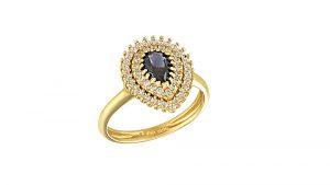 Δαχτυλιδι-Ροζετα-Πουαρ-Atofio-Jewelry
