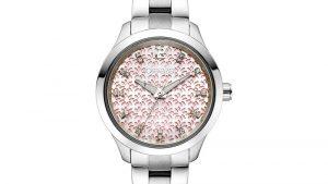 Γυναικειο ρολοι breeze σε ασήμι, με bracelet και ροζ καντράν με ασημένιες διακοσμητικές λεπτομέρειες. Βρείτε το στο Ατόφιο στον Κορυδαλλό.