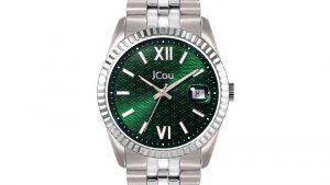 JCOU QUEEN'S II JU19038-3 Λευκό Bracelet, πράσινο καντράν. Βρείτε το στο Ατόφιο στον Κορυδαλλό.