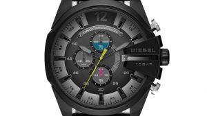 Ρολόι DIESEL Mega Chief Με Μαύρο Bracelet DZ4514. Βρείτε το στο Ατόφιο στον Κορυδαλλό.