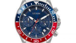 Ρολόι Eternal LE DOM LD.1481-1 με μπλε καντράν. Βρείτε το στο Ατόφιο στον Κορυδαλλό.