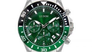Ρολόι LE DOM Eternal LD.1481-3 με πράσινο καντράν. Βρείτε το στο Ατόφιο στον Κορυδαλλό.