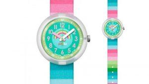 Ρολόι Παιδικό FlikFlak Stripy Dreams Power Time ZFPNP014. Βρείτε τα στο Ατόφιο στον Κορυδαλλό.