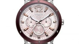 Vogue Women's Watch 812081 with bracelet and pink dial. Find it at Atofio in Korydallos.