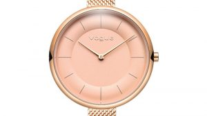 Vogue Women's Watch 812153 with slim bracelet in pink gold. Find it at Atofio Jewelry in Korydallos.