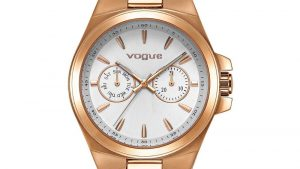 Vogue Women's Watch 813151 with pink gold bracelet. Find it at Atofio Jewelry in Korydallos.