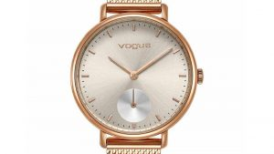 Vogue Women's Watch 813252 in pink gold with bracelet. Find it at Atofio Jewelry in Korydallos.