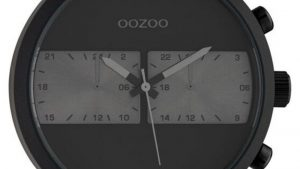 Oozoo Timepieces C10519 Με Μαύρο Δερμάτινο Λουρί. Βρείτε το στο Ατόφιο στον Κορυδαλλό.