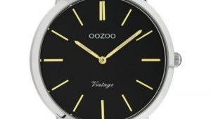 Oozoo Vintage C20104 Δίχρωμο Ασημί Χρυσό Με Bracelet. Βρείτε το στο Ατόφιο στον Κορυδαλλό.