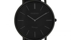 Oozoo Vintage C9935 Με Μαύρο Bracelet. Βρείτε το στο Ατόφιο στον Κορυδαλλό.